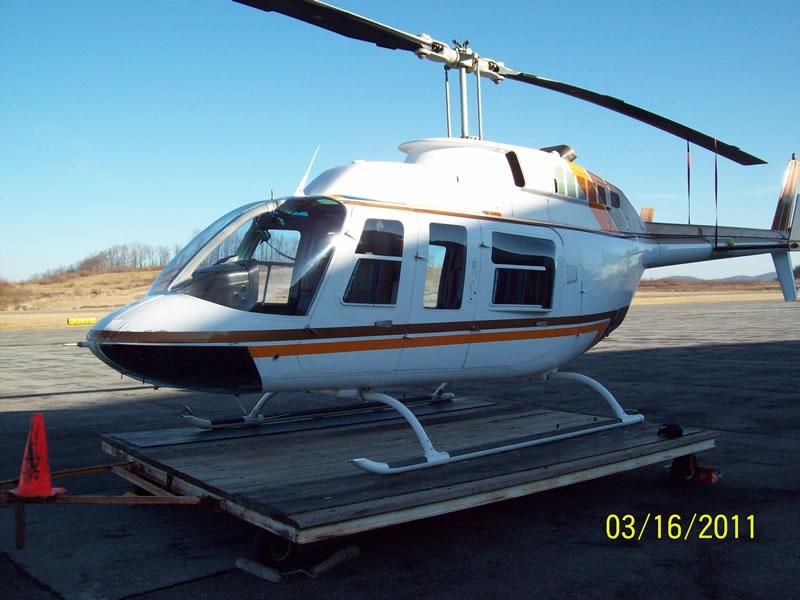 Bell 206L1 – 6,520 TTAF