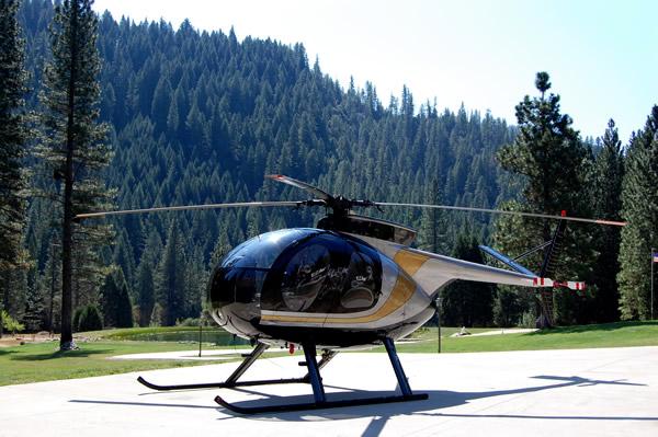 McDonnell Douglas 500 C - 7,425 TTAF